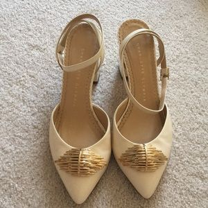 Charlotte Olympia blocks heel shoes 36